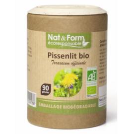 Nat & form ecoresponsable pissenlit bio 90 gélules - nat & form -197943