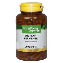 Nat & form original ail noir fermenté - 200 gélules - nat & form -206589