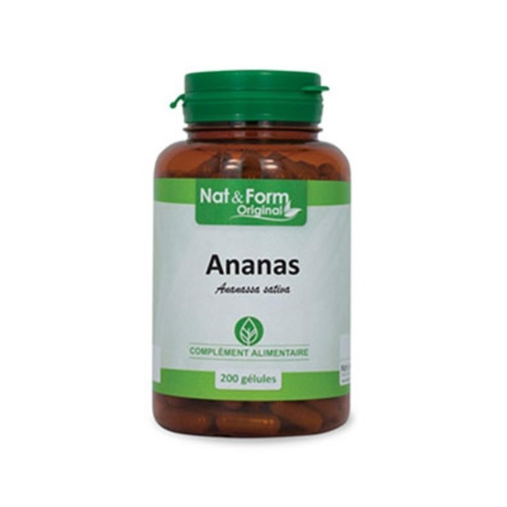 Nat & form original ananas - 200 gélules - 200.0 unites - nat & form -6602