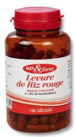 Nat & form original levure de riz rouge - 120 gélules - nat & form -210914