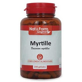 Nat & form original myrtille - 200 gélules - nat & form -210915