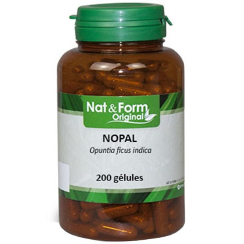Nat & form original nopal - 200 gélules - nat & form -205306