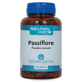 Nat & form original passiflore - 200 gélules - nat & form -210916