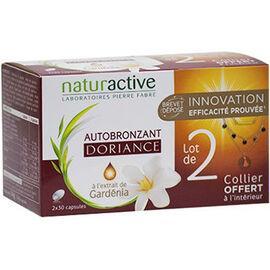 Naturactive  autobronzant 2x30 capsules + collier offert - doriance -225897