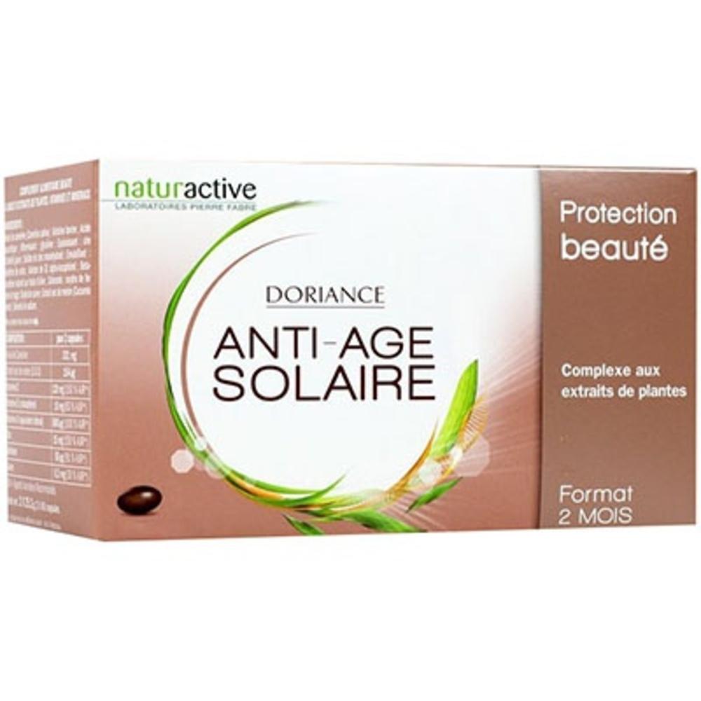 NATURACTIVE Doriance Solaire Anti-âge 2 x 60 capsules + Bracelet OFFERT - Doriance -213985