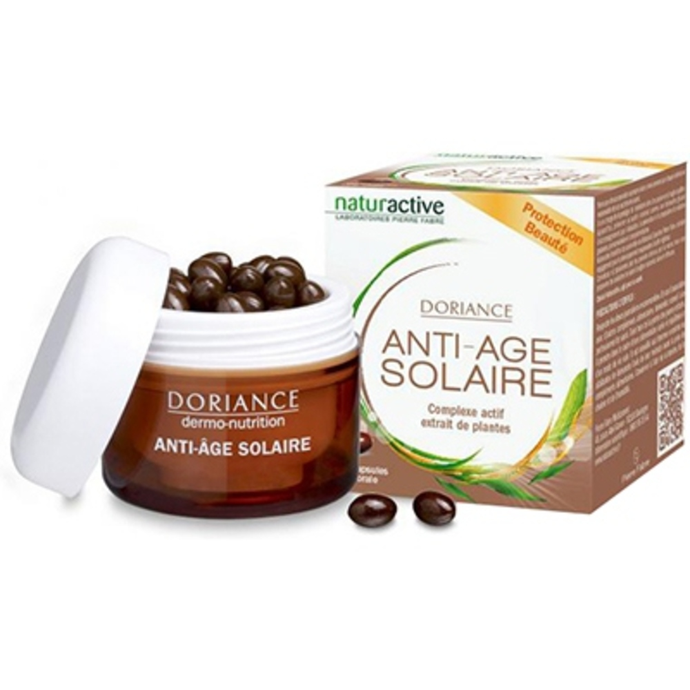 Naturactive doriance solaire & anti-âge - 60 capsules - doriance -205715