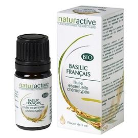 Naturactive huile essentielle basilic français bio 5ml - naturactive -200727