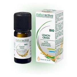 Naturactive huile essentielle lemon grass bio 10ml - naturactive -201552