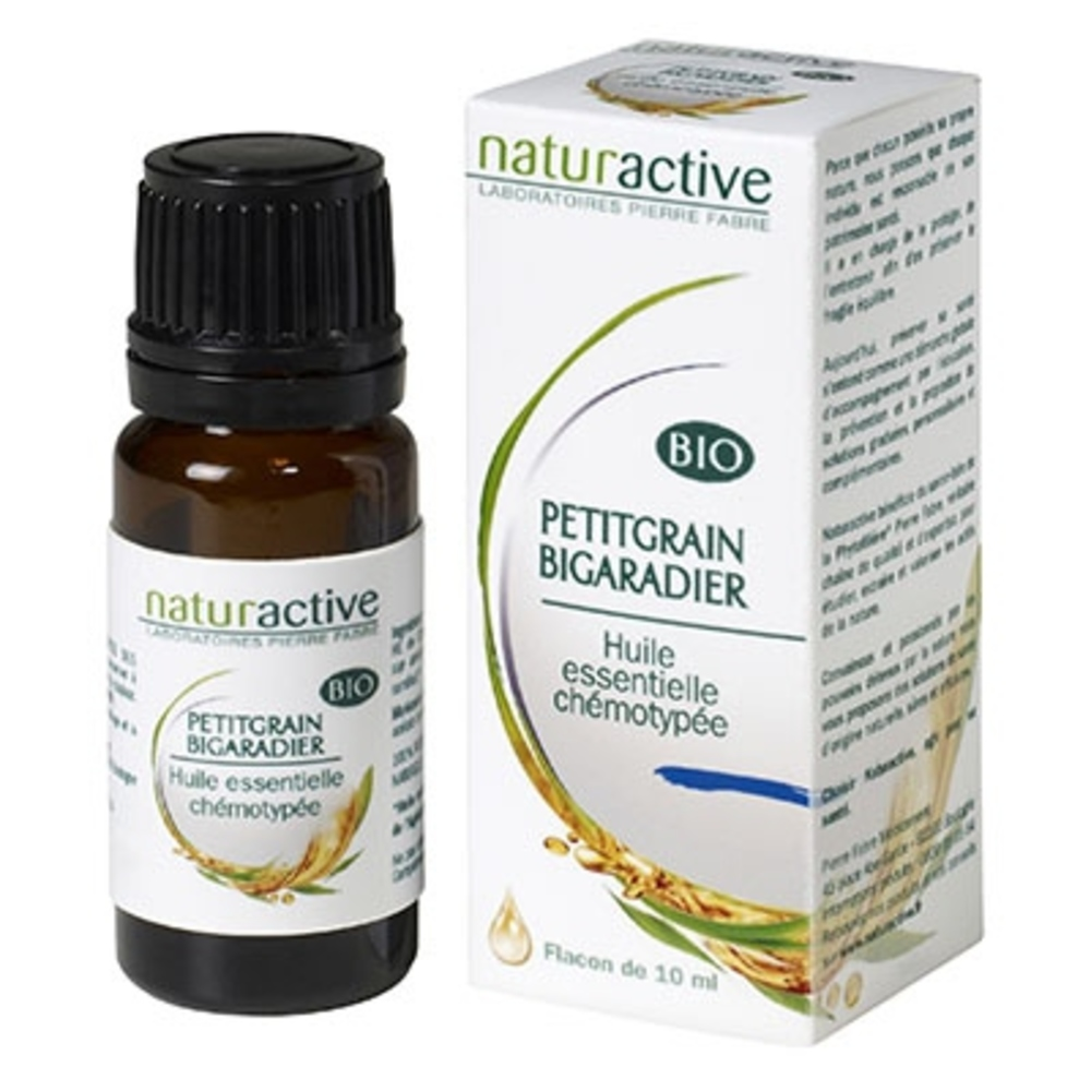 Naturactive huile essentielle petitgrain bigaradier bio 10ml - naturactive -200753