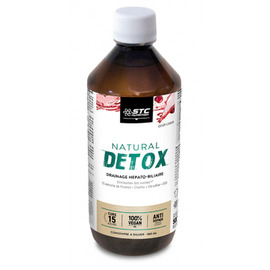 Natural detox - 500.0 ml - stc nutrition -11368