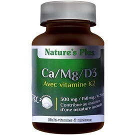 Nature's plus ca mg d3 avec vitamine k2 - nature plus -200006
