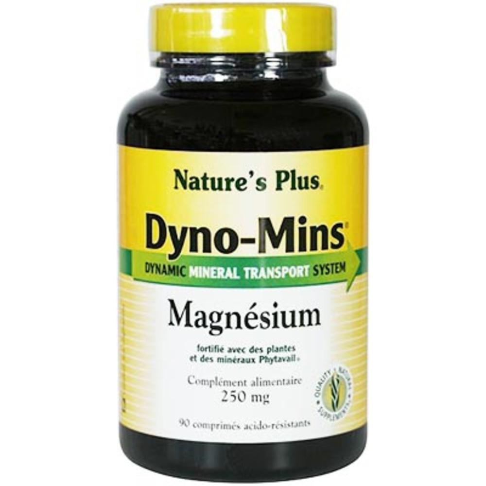 Nature's plus dyno-mins magnésium - eco - 90.0 unites - vitamines et minéraux - nature plus Bien-être-1378