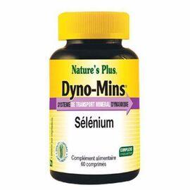 Nature's plus dyno-mins sélénium 60 comprimés - 60.0 unites - vitamines et minéraux - nature plus -110790