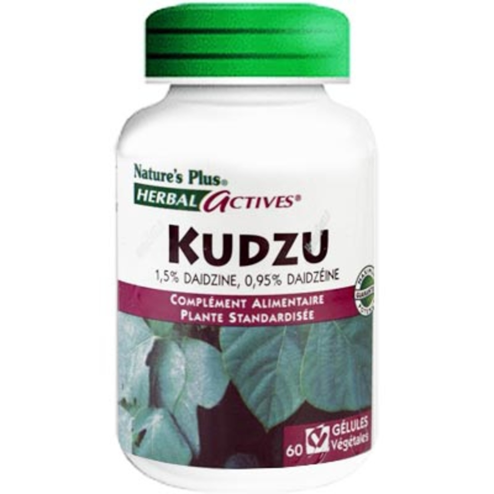 Nature's plus kudzu - 60.0 unites - nature plus Désaccoutumance-8640