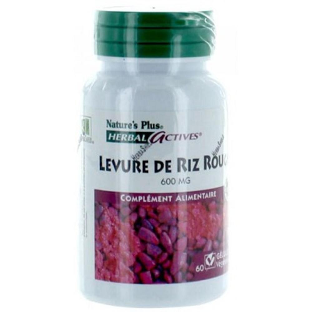 Nature's plus levure de riz rouge - 60.0 unites - nature plus Aide efficace-8705