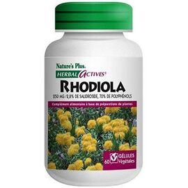 Nature's plus rhodiola 60 gélules - 60.0 unites - mémoire stress sommeil - nature plus Mémoire, stress, sommeil-8624