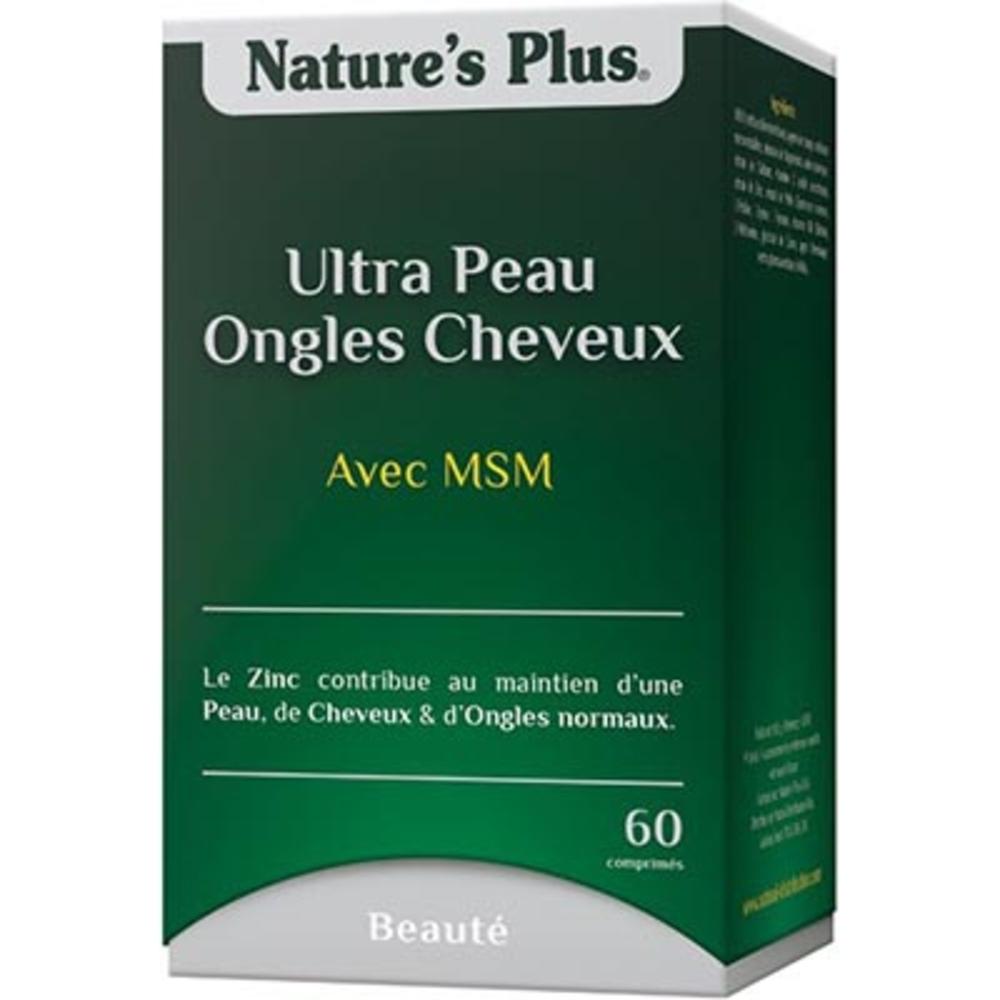 Nature's plus ultra peau ongles cheveux plus - 60.0 unites - nature plus Peau, ongles et cheveux.-8658