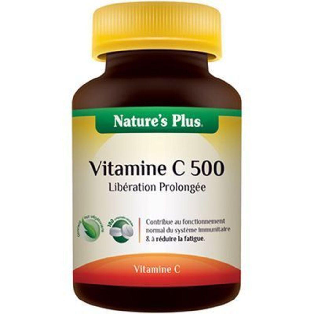 Nature's plus vitamine c 500 - 120 comprimés - 120.0 unites - vitamines et minéraux - nature plus -8741