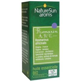 Naturesun aroms huile essentielle romarin abv bio - 10ml - 10.0 ml - huiles essentielles - naturesun'arôms -15558
