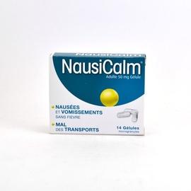 Nausicalm adultes 50 mg - 14 gélules - nogues laboratoires -193008