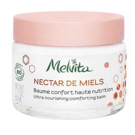 Nectar de miels baume confort haute nutrition bio 50ml - nectar de miels - melvita -213396