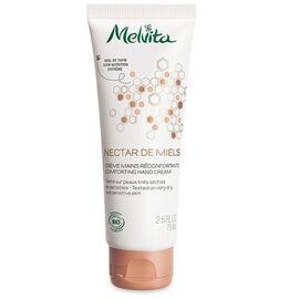 Nectar de miels crème mains réconfortante bio 75ml - nectar de miels - melvita -213401