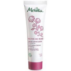 Nectar de roses crème mains légère 30ml - nectar de roses - melvita -213384