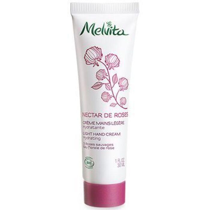 Nectar de roses crème mains légère 30ml Melvita-213384