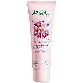 Nectar de roses masque hydratant désaltérant bio 50ml - nectar de roses - melvita -213378