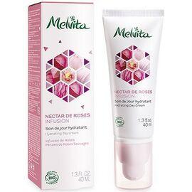 Nectar de roses soin de jour hydratant bio 40ml - nectar de roses - melvita -213373