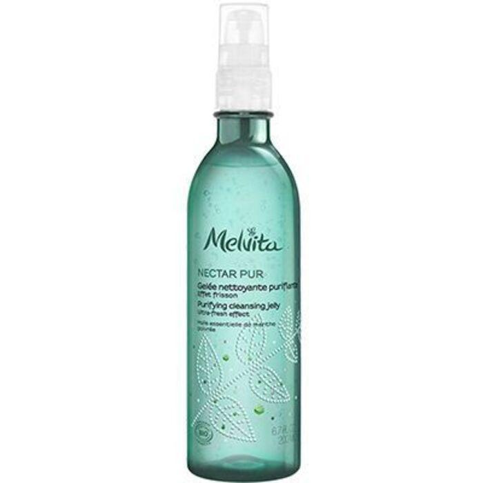 Nectar pur gelée nettoyante purifiante 200ml Melvita-225551