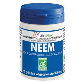 Neem bio - 60.0 unites - compléments alimentaires - ayur-vana -105199