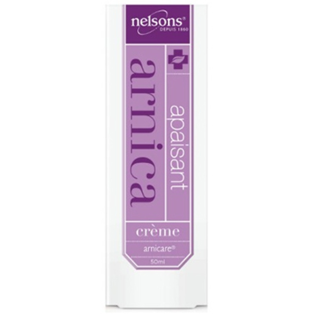 Nelsons apaisant arnica crème - 50 ml - nelsons -211025