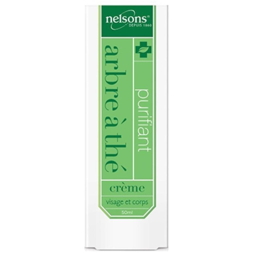 Nelsons arbre à thé crème visage et corps - 50ml - 50.0 ml - nelsons -210629