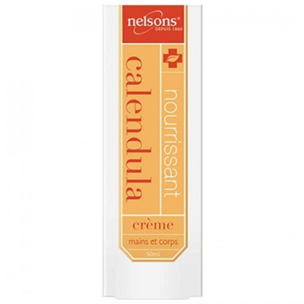 Nelsons crème mains et corps calendula - 50ml - 50.0 ml - nelsons -210630