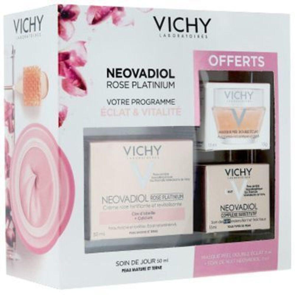 Néovadiol rose platinium programme eclat & vitalité peau mature & terne Vichy-222763