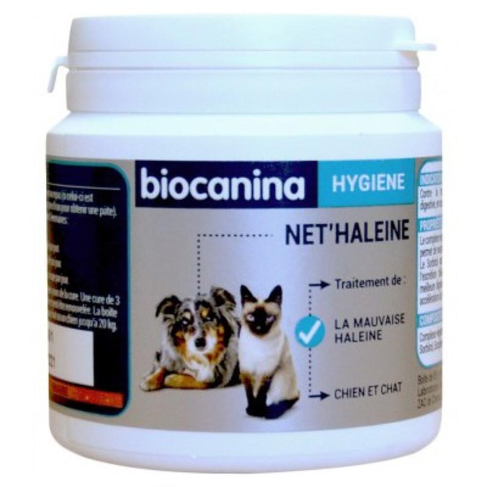 Net'haleine pour Chats et Chiens - Poudre 85g - Biocanina -211052