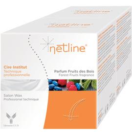 Netline cire institut fruits des bois 2x250ml - netline -223854
