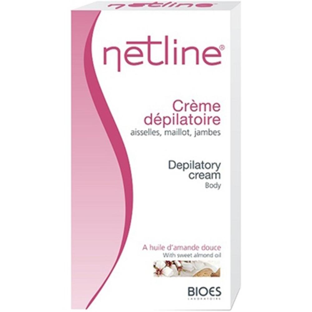 Netline crème dépilatoire maillot aisselles et jambes - 125.0 ml - crèmes dépilatoire et décolorantes - bioes -4602
