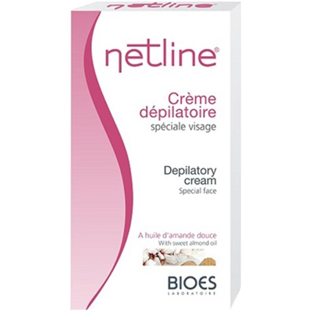 Netline crème dépilatoire visage - 75.0 ml - crèmes dépilatoire et décolorantes - bioes -10132