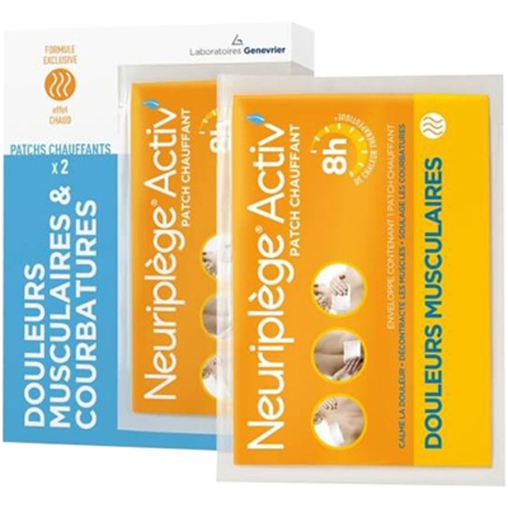 Neuriplege activ patch x2 - neuriplege -203256