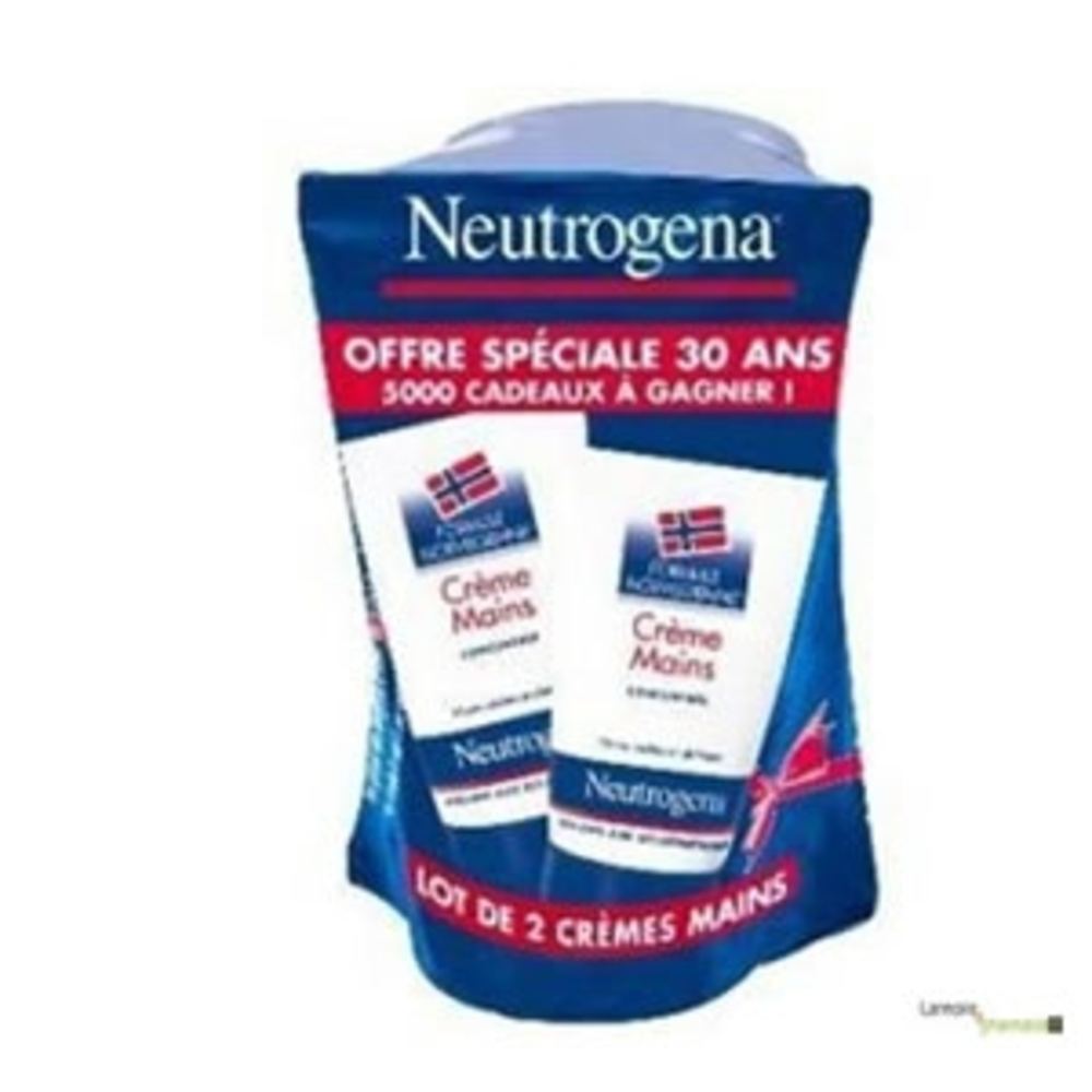 Neutrogena duo creme mains avec parfum - 50.0 ml - mains - neutrogena -17092