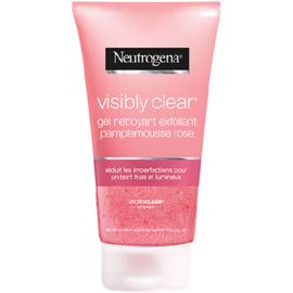 Neutrogena gel nettoyant exfoliant pamplemousse rose 150ml - neutrogena -225933