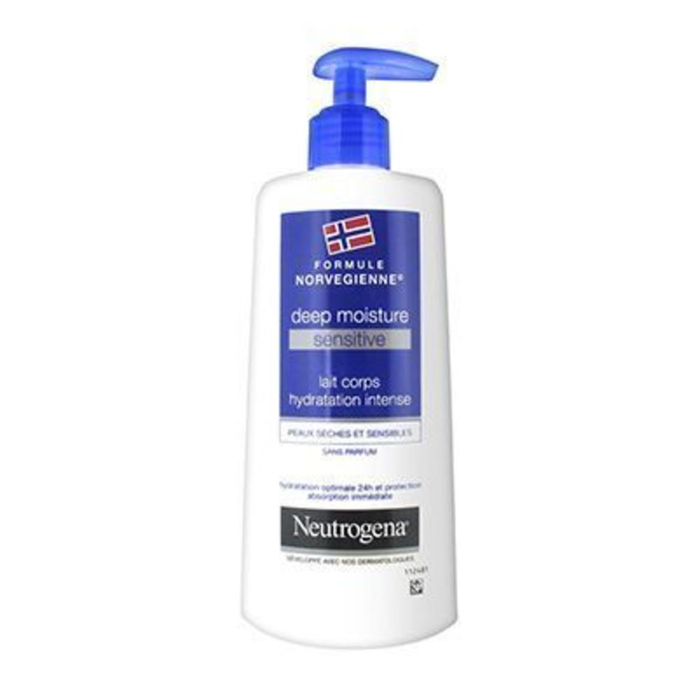 Neutrogena lait corps hydratation intense 250ml - neutrogena -225928