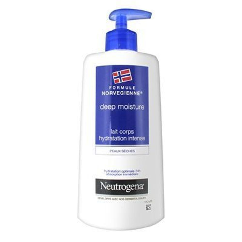 Neutrogena lait corps hydratation intense 400ml - neutrogena -225927