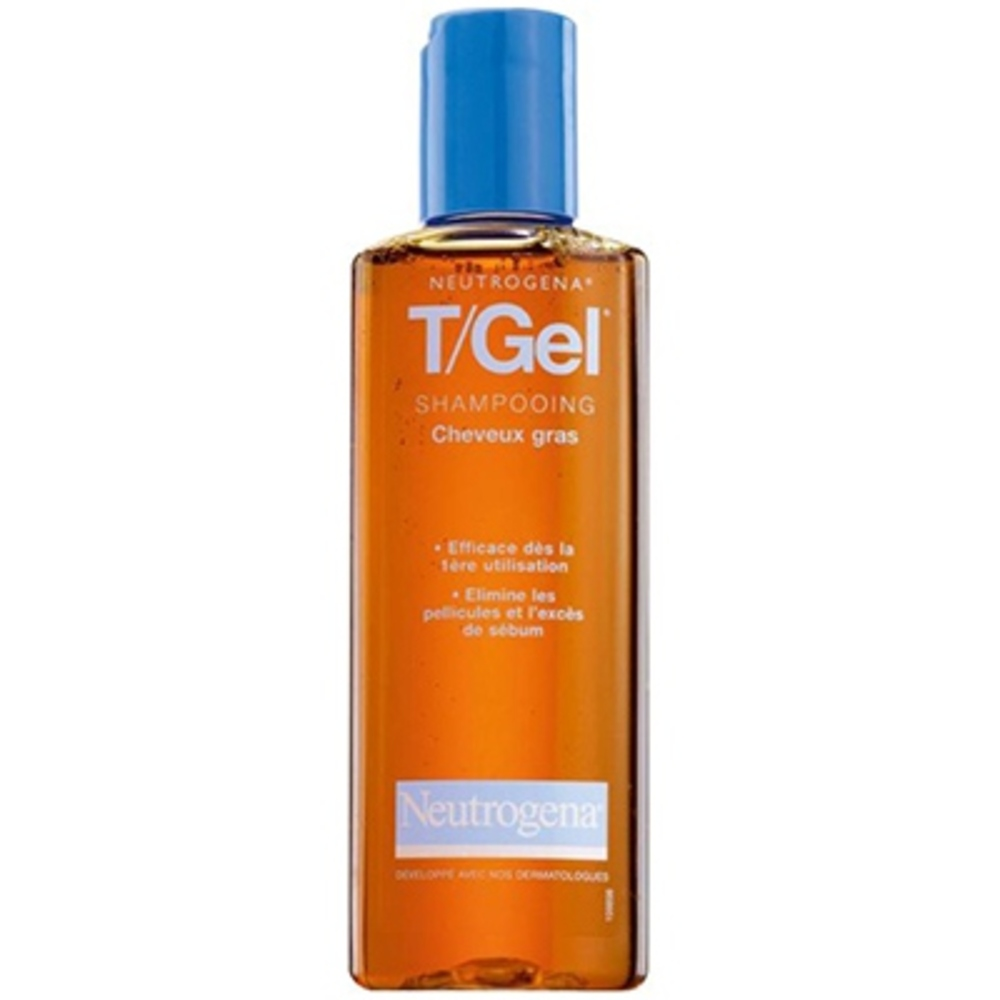 Neutrogena t/gel shampooing cheveux gras - 250ml - 250.0 ml - antipelliculaires - neutrogena -3088