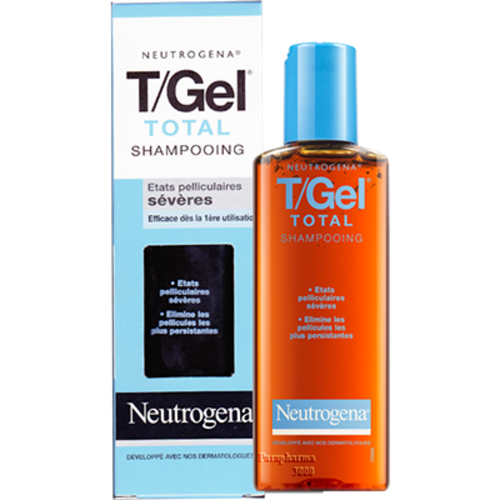 Neutrogena t/gel total shampooing - 125ml - 125.0 ml - antipelliculaires - neutrogena -3091