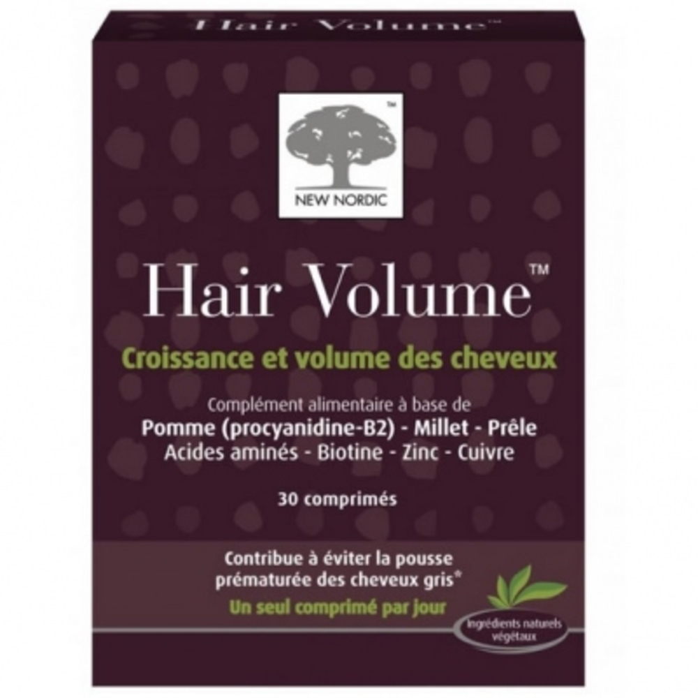 New nordic hair volume - 30 comprimés - new nordic -159384