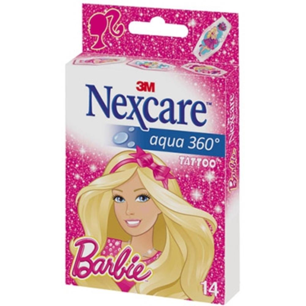 Nexcare aqua 360 pansements barbie - nexcare -201556