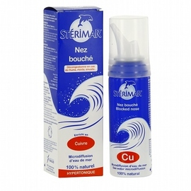 Nez bouché adulte spray nasal hypertonique 100ml - 100.0 ml - sterimar -83235